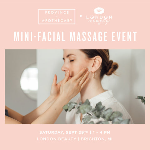 London Beauty (Brighton, MI) Mini-Facial Massage Event