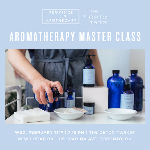 The Detox Market (Spadina) Aromatherapy Workshop