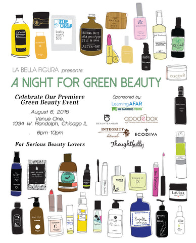 NEW! Product Reveal @ A Night for Green Beauty - TONIGHT!