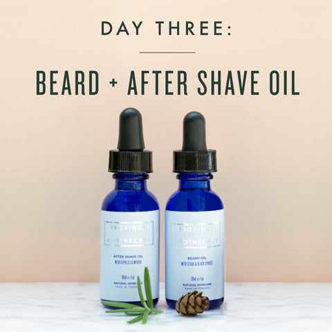 SEVEN DAYS OF GIFT GIVING | DAY 3: BEARD + AFTER SHAVE OIL
