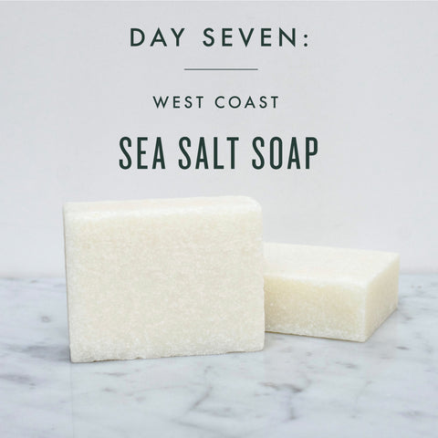 SEVEN DAYS OF GIFT GIVING | DAY 7: SEA SALT SOAP