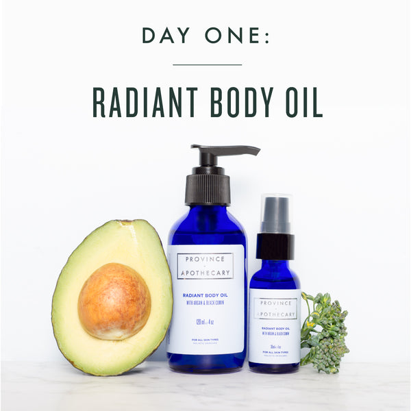 SEVEN DAYS OF GIFT GIVING | DAY 1: RADIANT BODY OIL