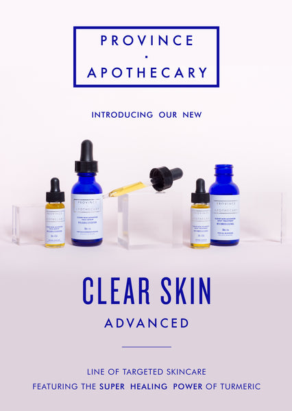NEW! CLEAR SKIN ADVANCED LINE