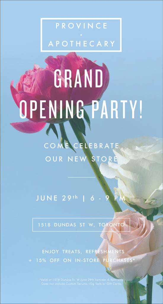 Save the date | Grand Opening Party!