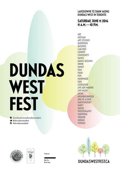 Visit us at Dundas West Fest!