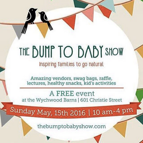 The Bump To Baby Show, Sunday May 15