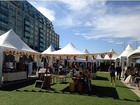 We are the leslieville flea at the Harbour Front Sunday June 1st!!