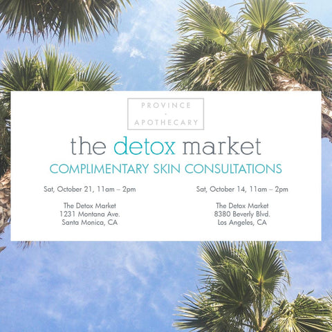 The Detox Market Skin Consults