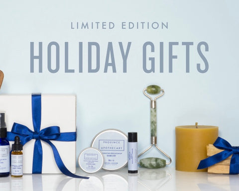 Our holiday gift guide! Give the gift of green beauty
