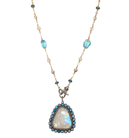 Moonstone, Topaz, Diamonds & Pearls!