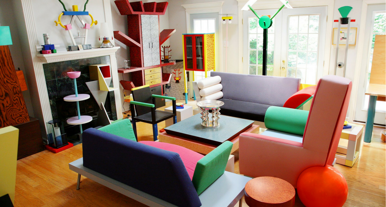 1980s design movement started in 1981 by Ettore Sottsass and a group of young designers who wanted to challenge the established notions of good design at the time.