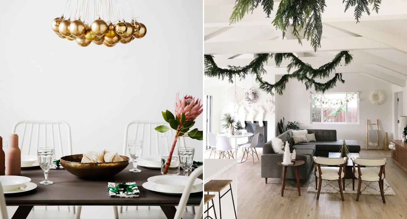 modern resale global christmas decor
