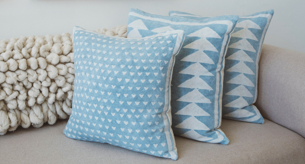 Block Shop Textiles Pillows