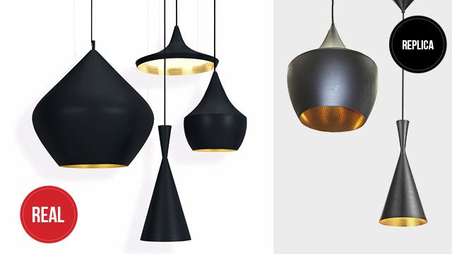 Designer lights are also subject to copies