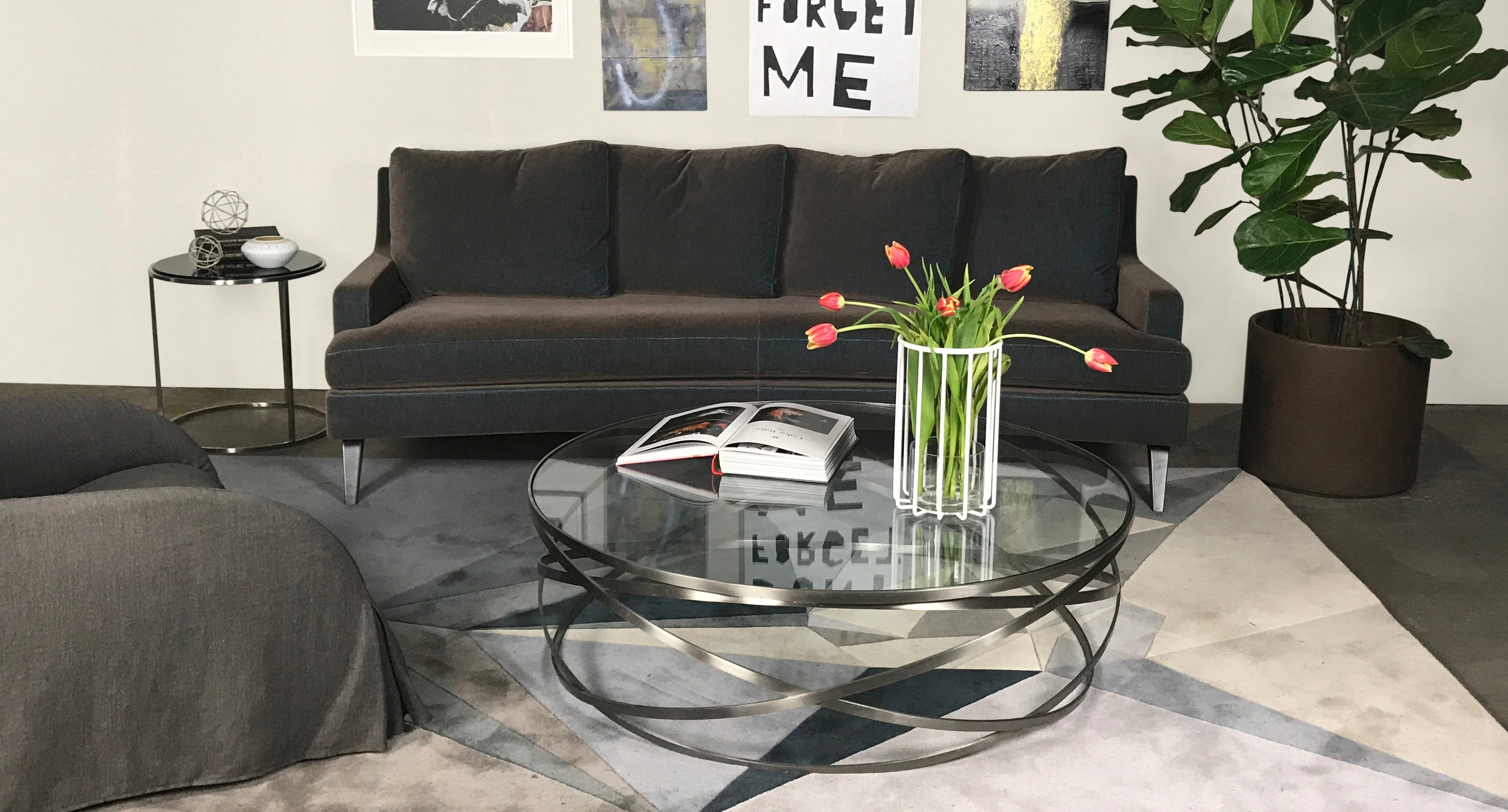 Modern Resale How to Style Coffee Table in Living Room