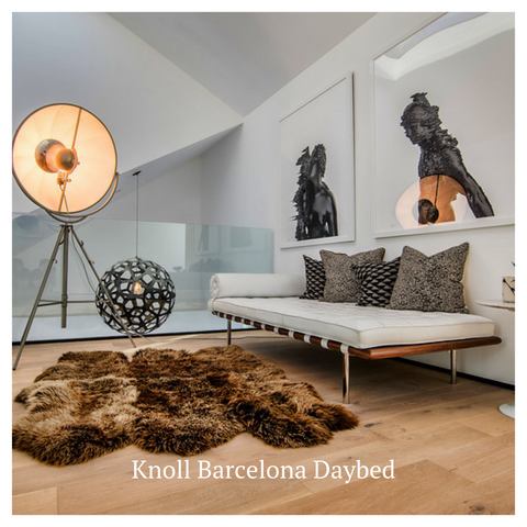 Modern Resale Knoll Barcelona Daybed consignment