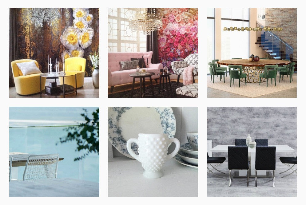 Our 5 favorite instagram hashtags for interior design inspiration modern resale for Interior design instagram hashtags