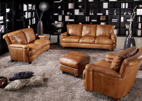 Many design brands released their first collection of Italian furniture, including iconic furniture pieces featuring Italian leathers such as Italian leather sofas.