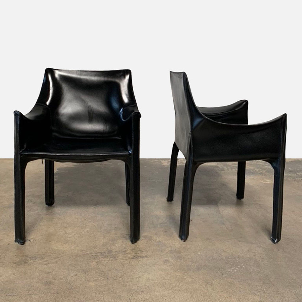 Vintage Cab Chairs, Dining Chair - Modern Resale