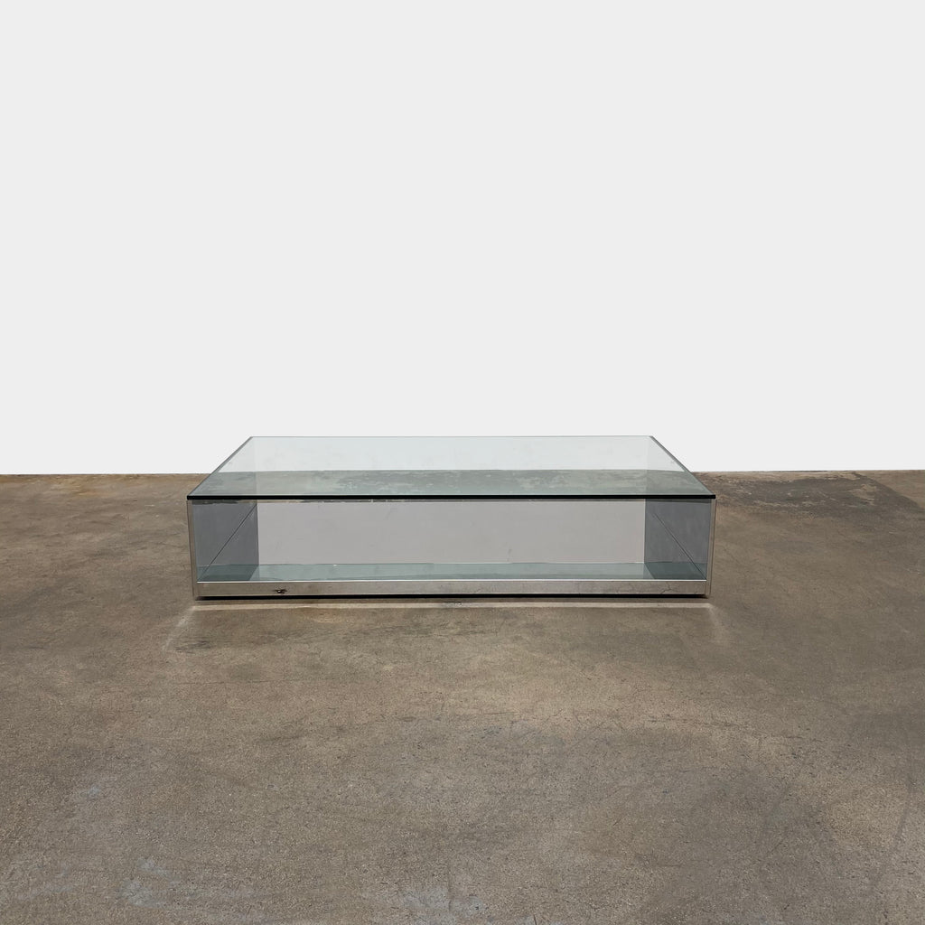 Litt Low Coffee Table, Coffee Table - Modern Resale