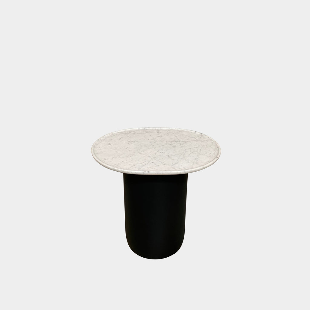 Button Marble Side Table, Side Table - Modern Resale