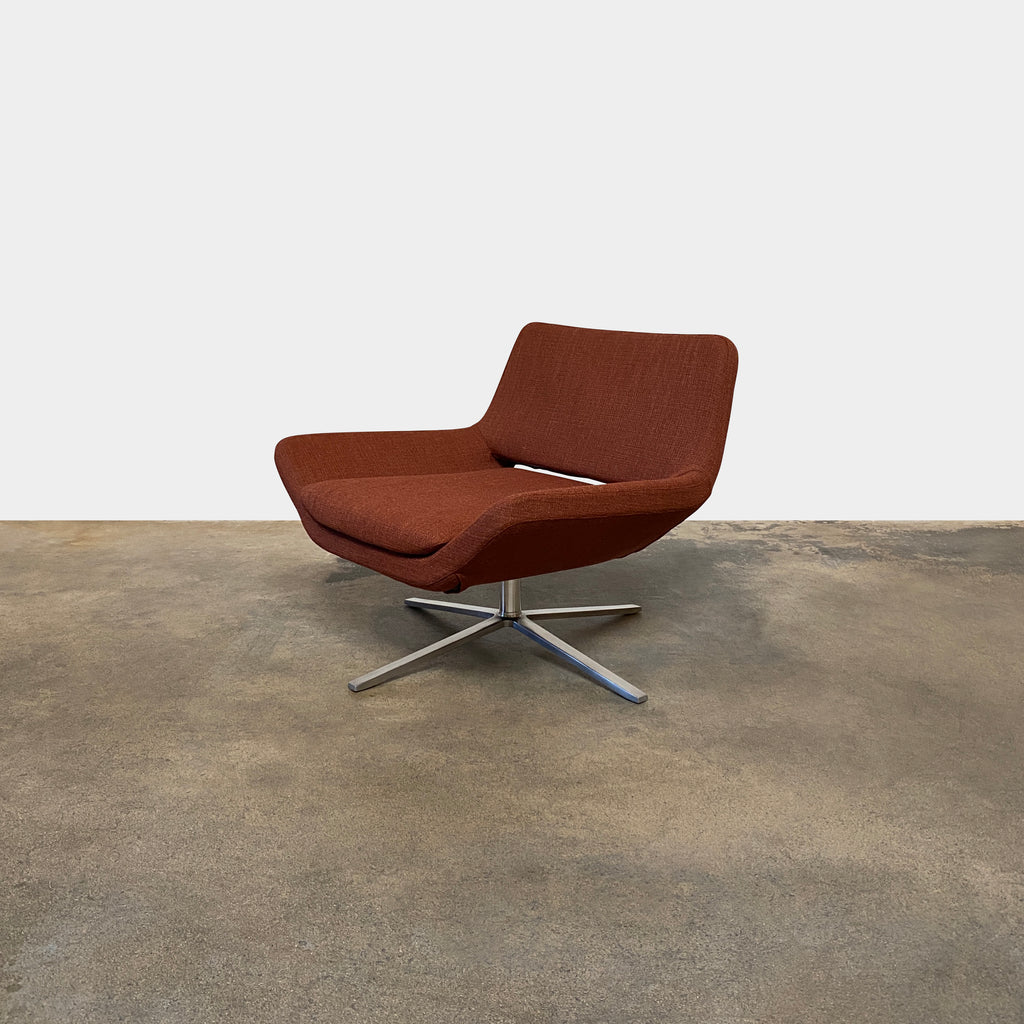 Metropolitan Swivel Armchair, Lounge Chair - Modern Resale