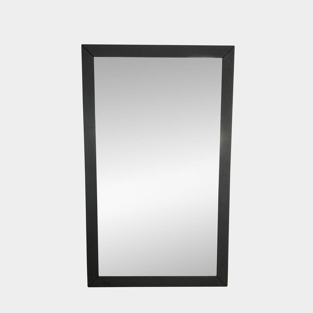 Wall Mirror with Leather Frame - Modern Resale