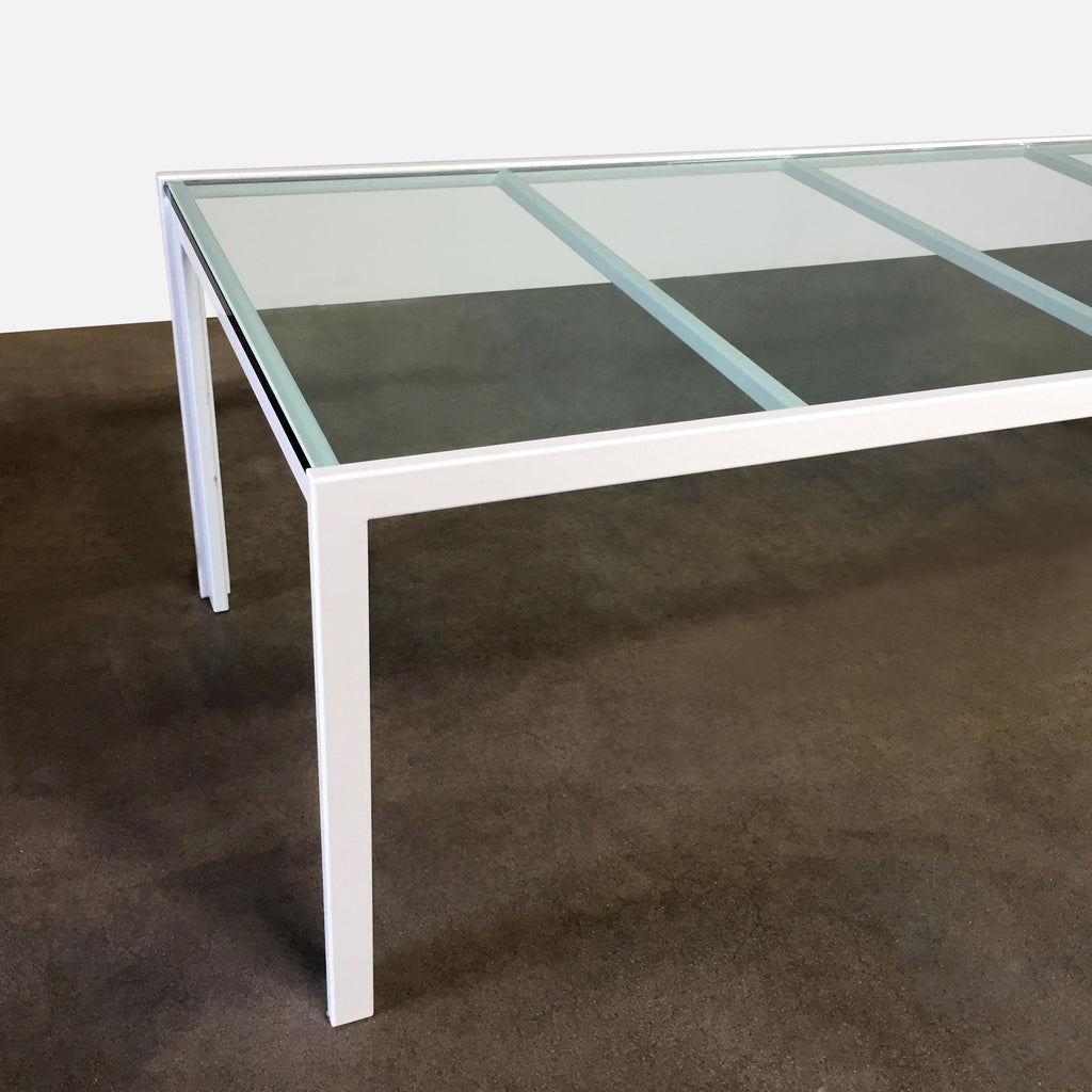 Glass Top Table - Modern Resale