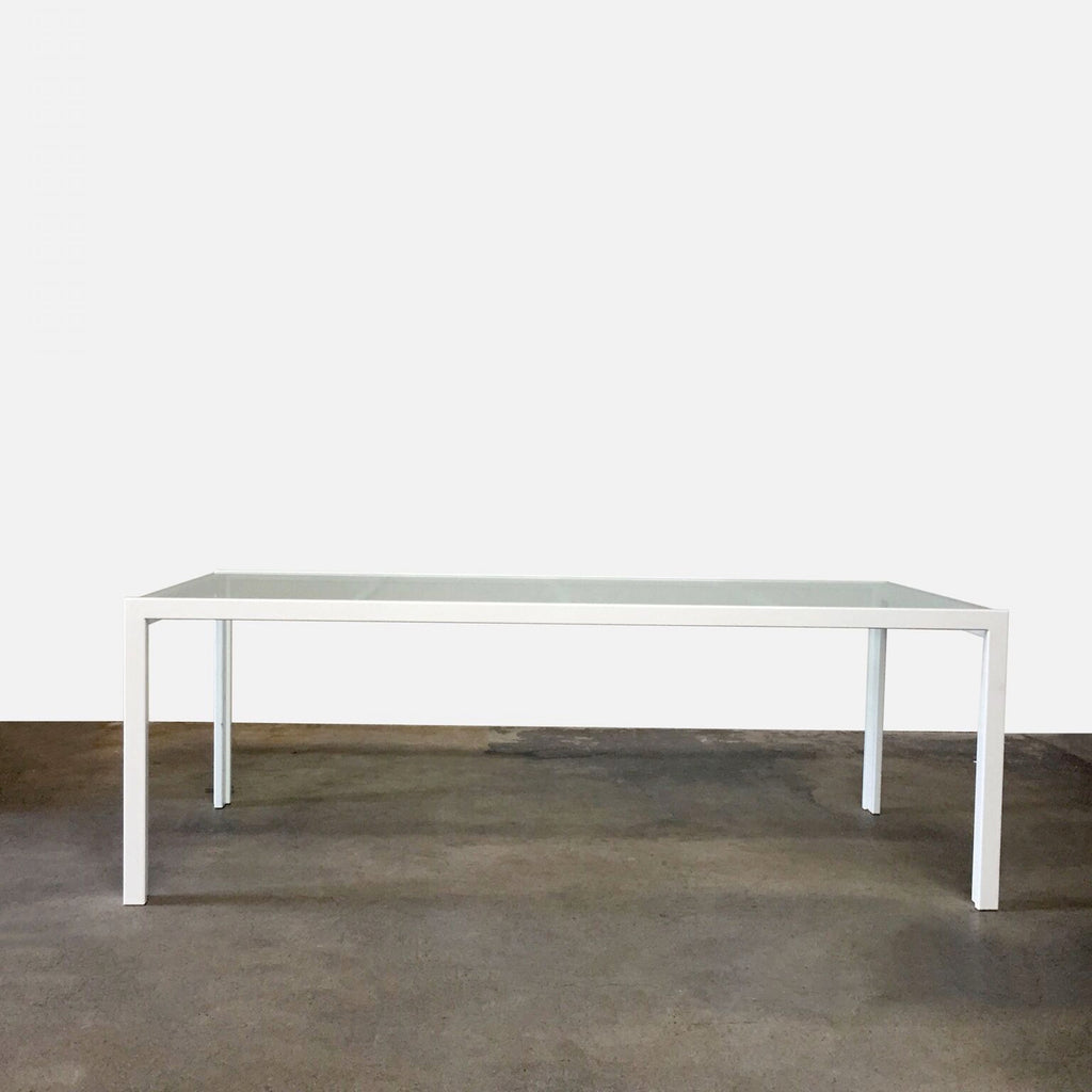 Glass Top Table, Outdoor - Modern Resale