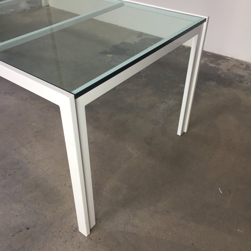 Van Keppel-Green Glass Outdoor Dining Table | LA | Consignment