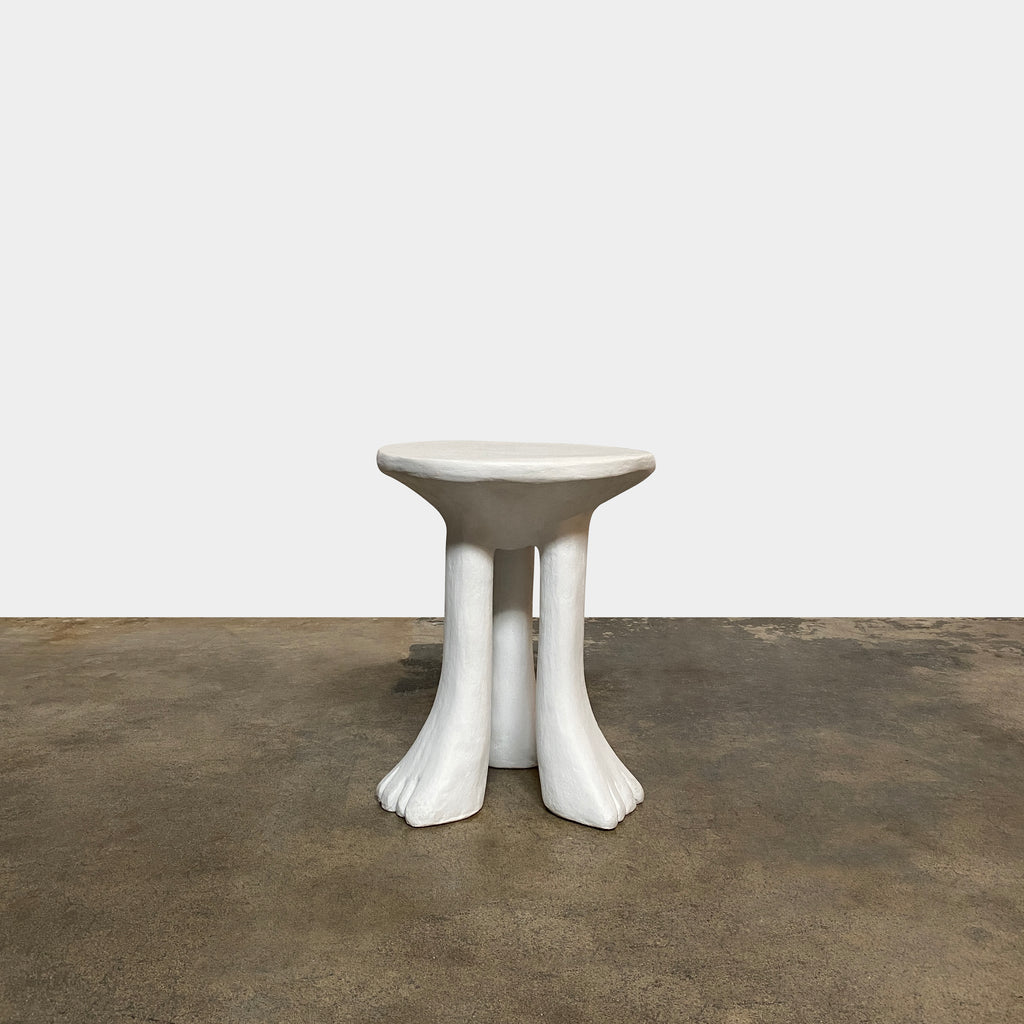 African Side Table, Table - Modern Resale