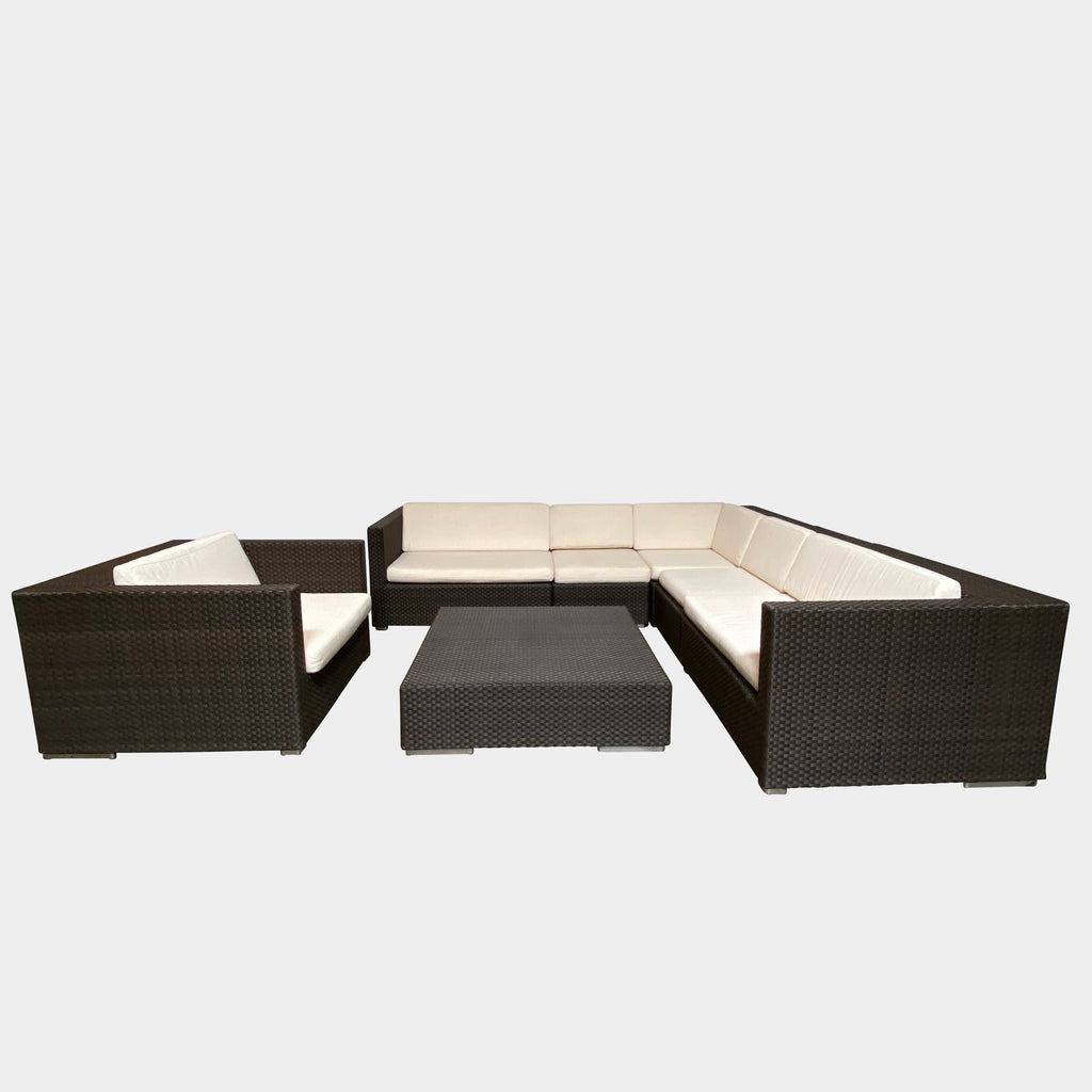 Lounge Collection Outdoor Set, Outdoor - Modern Resale