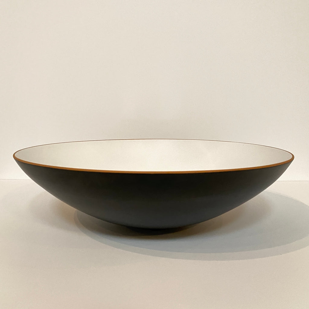 White & Black Centerpiece Bowl, Accessories - Modern Resale