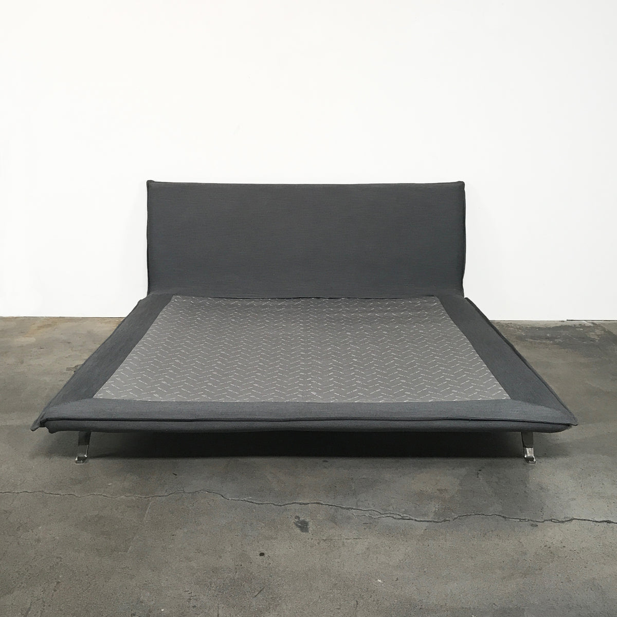 Dall'Agnese Gray Fabric Space Bed and Mattress | LA | Consignment