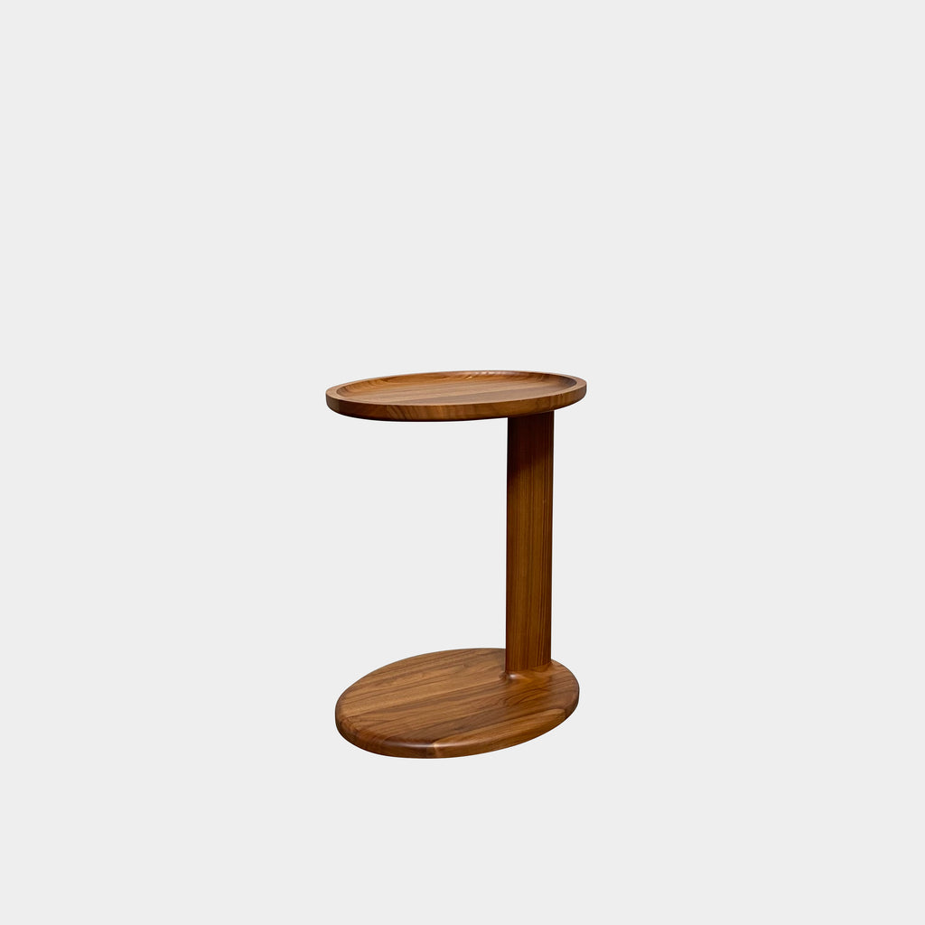 Oliver Walnut Side Table, Side Table - Modern Resale