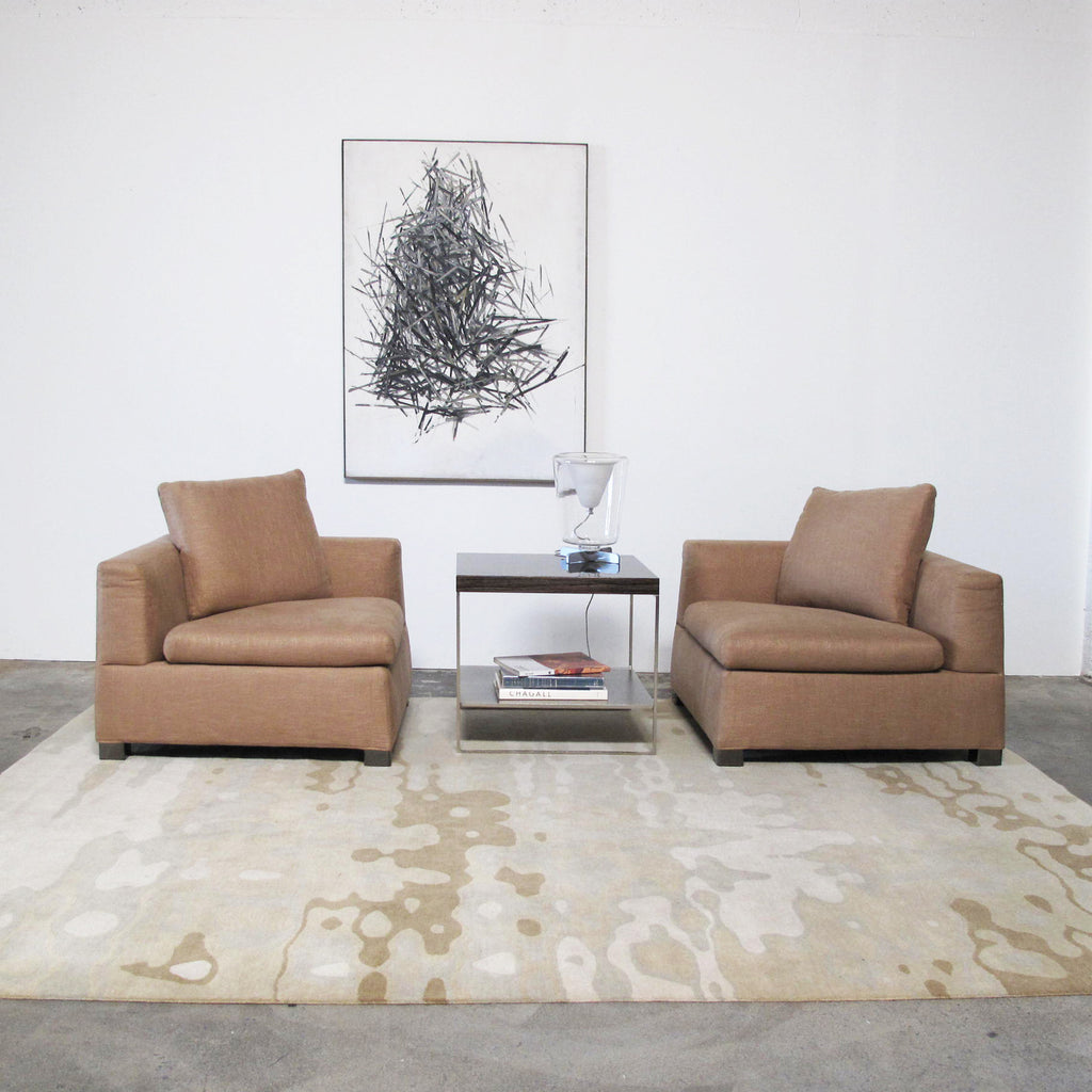 Delinear Tranquil Rug By Chris Basia Los Angeles