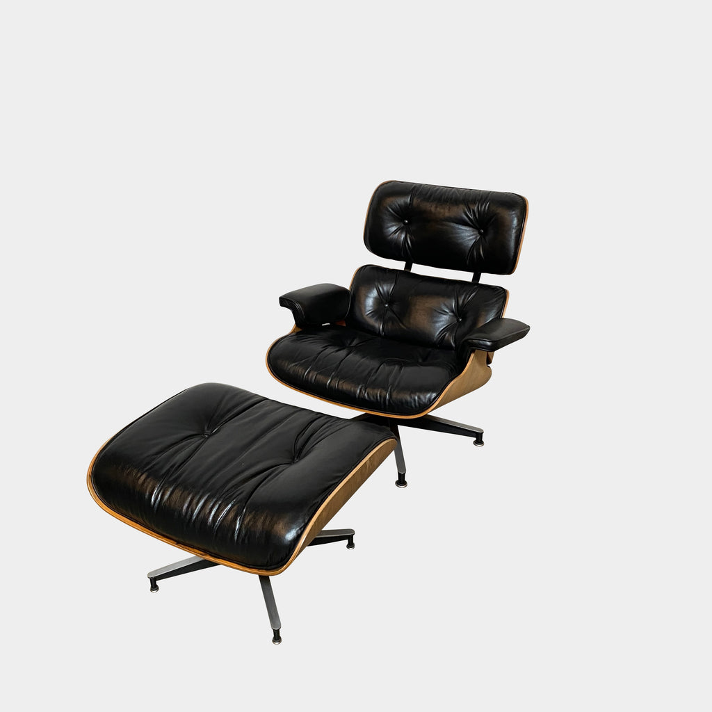 Eames Lounge Chair & Ottoman, Lounge Chair - Modern Resale