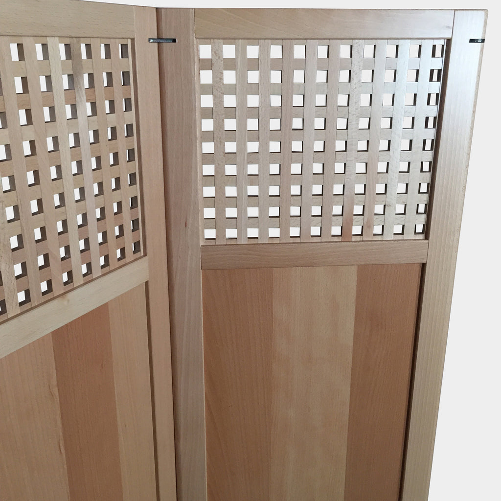 Wooden Foldable Partition, Room Divider - Modern Resale