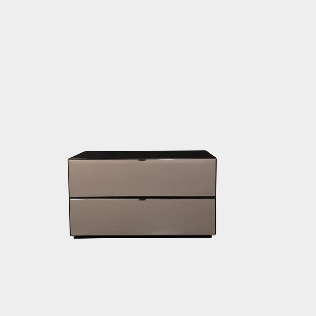 Taupe Morrison Nightstand, Nightstand - Modern Resale