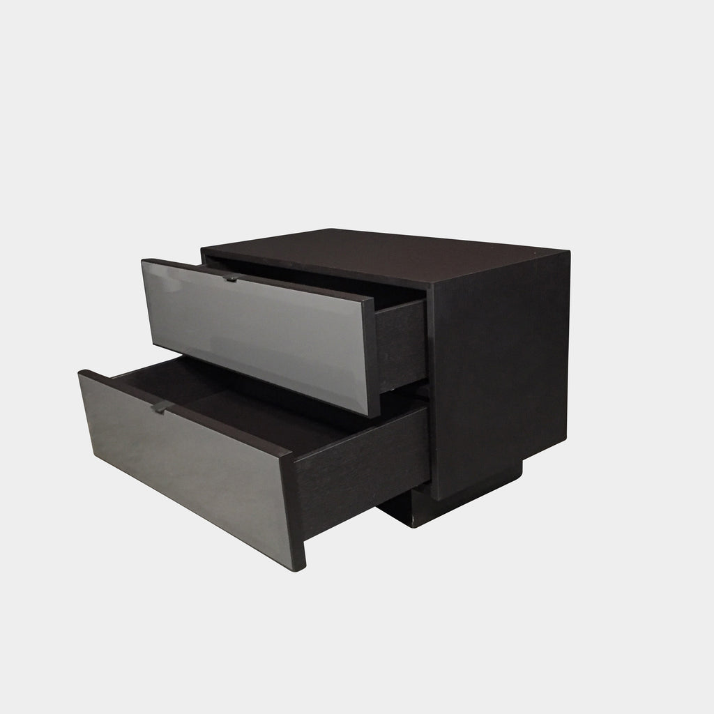Pewter Morrison Nightstand (ON HOLD), Nightstand - Modern Resale