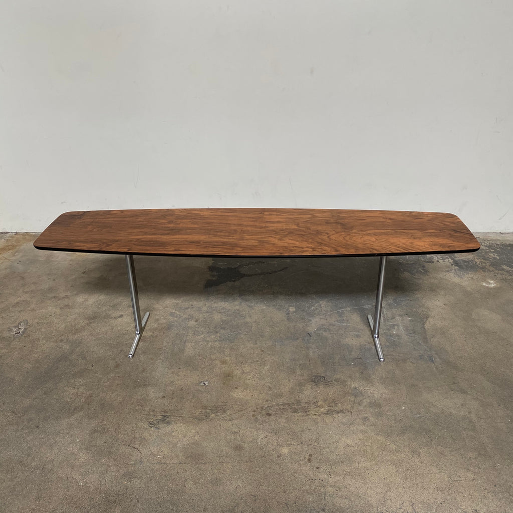 WIlson Zebrano Wood Console, Coffee Table - Modern Resale