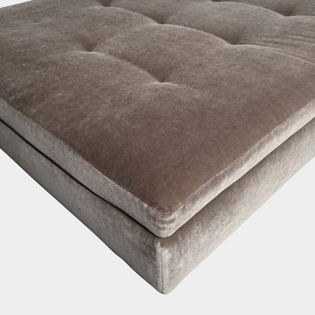 Tufted Square Ottoman, Ottoman - Modern Resale