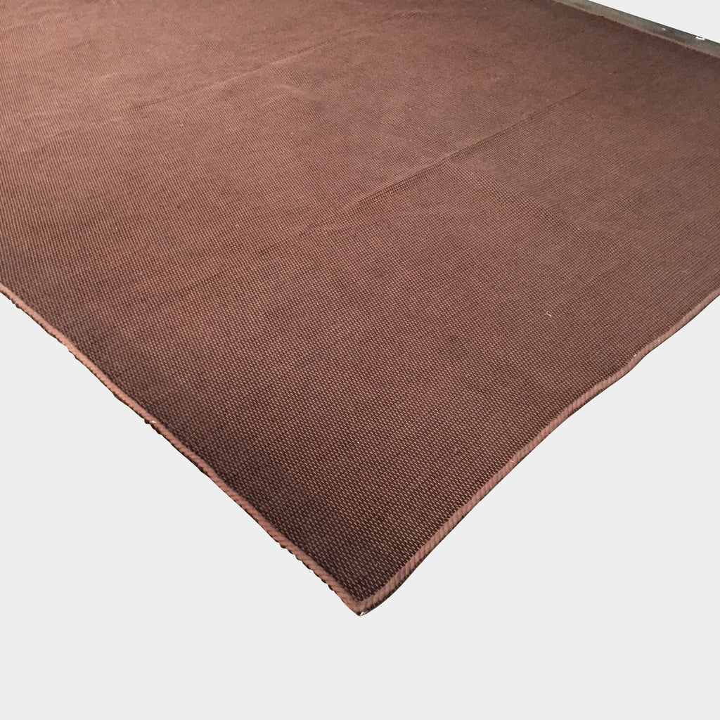 Ivano Redaelli Italian Design Brown Cotton Rug 7' x 9'