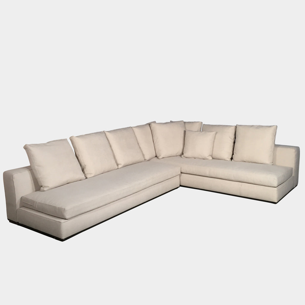Minotti Cream Fabric Andersen Sectional