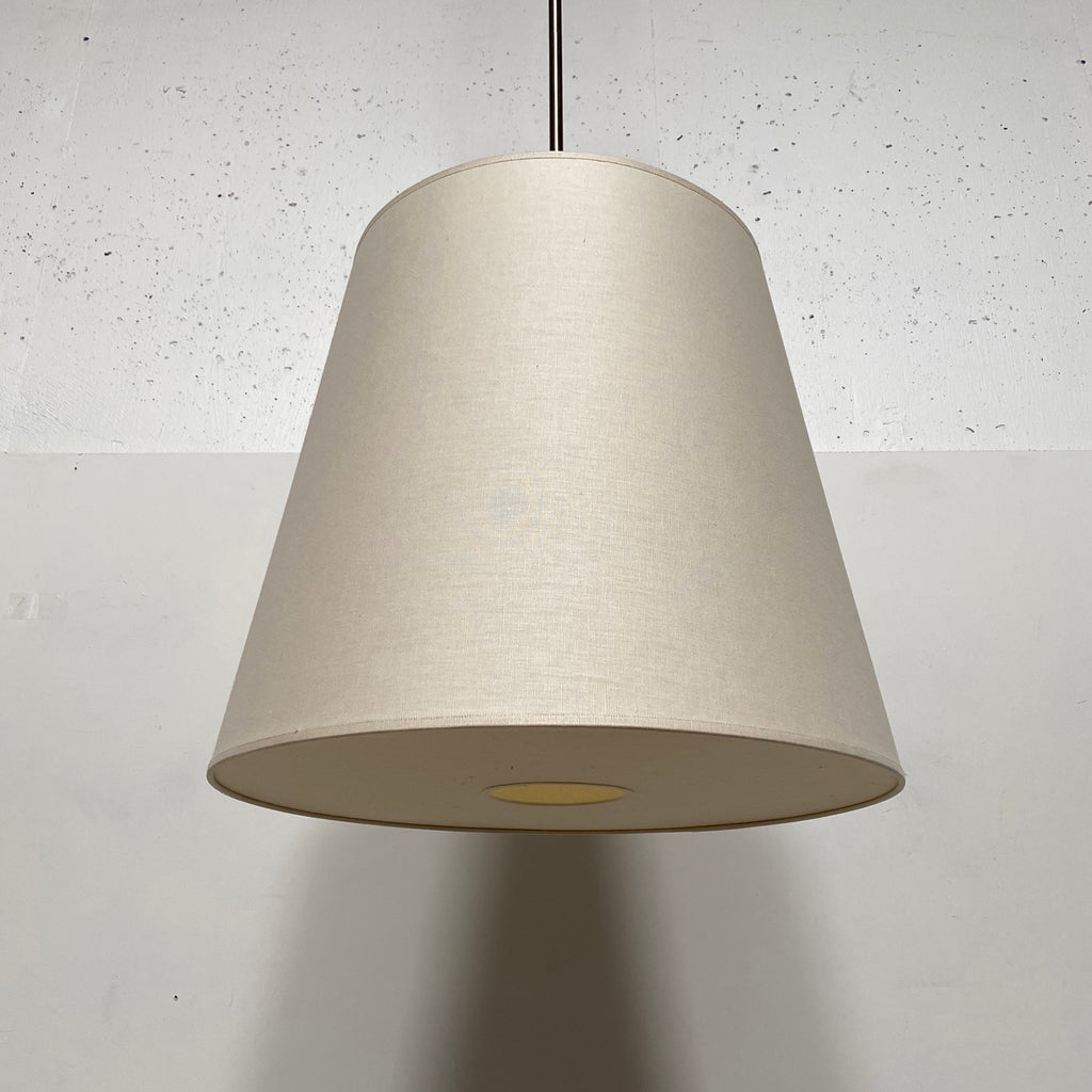 Off White Lampshade Suspension Light, Ceiling Light - Modern Resale