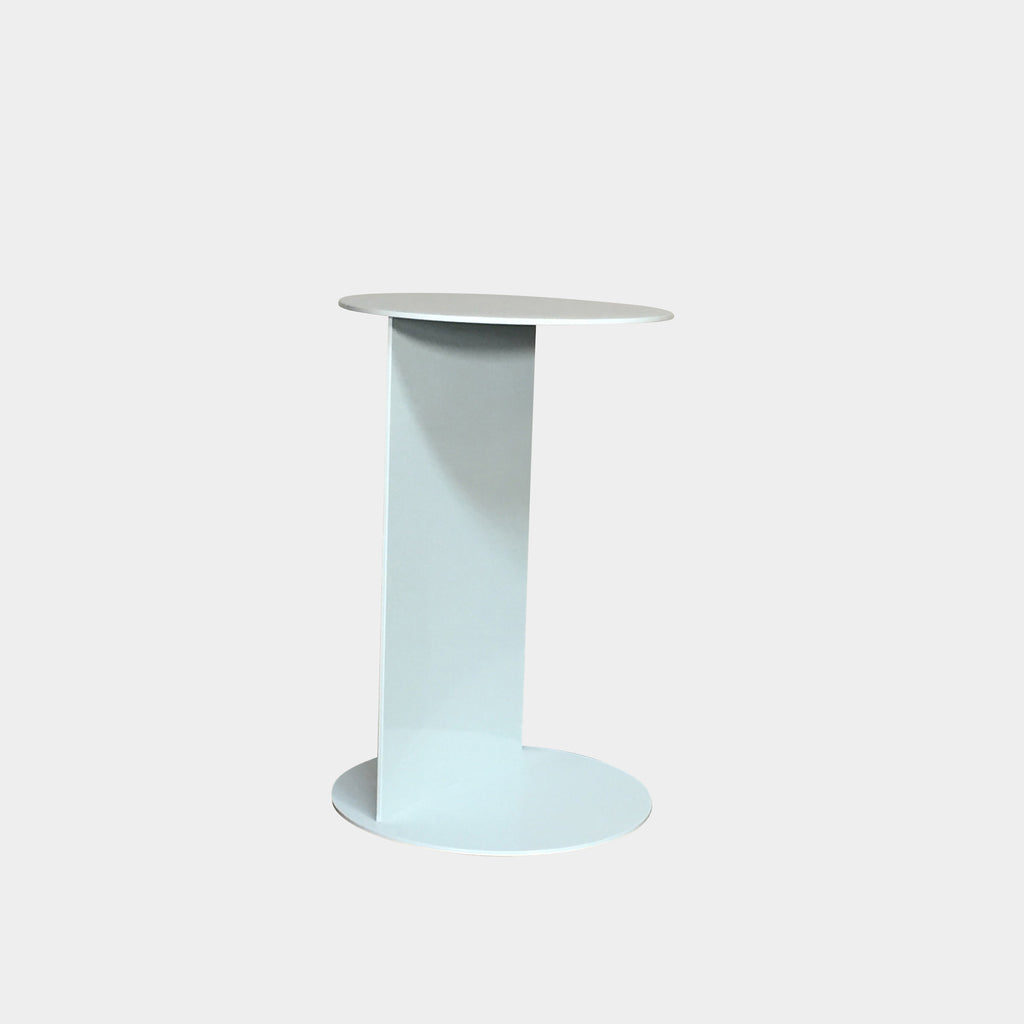 Ego Paris White Outdoor Side Table