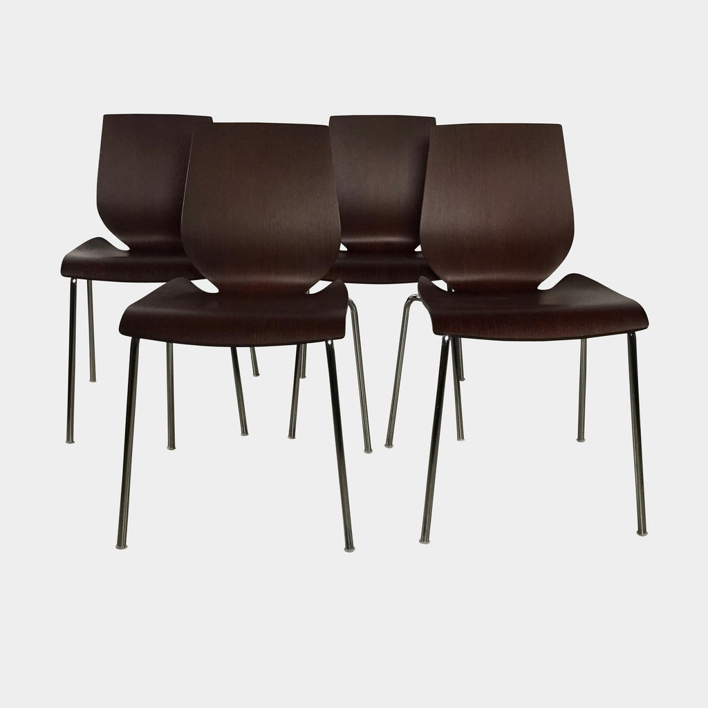 Wood Dining Chairs (Set of 4), Dining Chair - Modern Resale