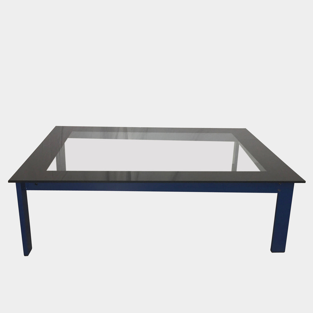 Sevilla Coffee Table (blue base), Coffee Table - Modern Resale
