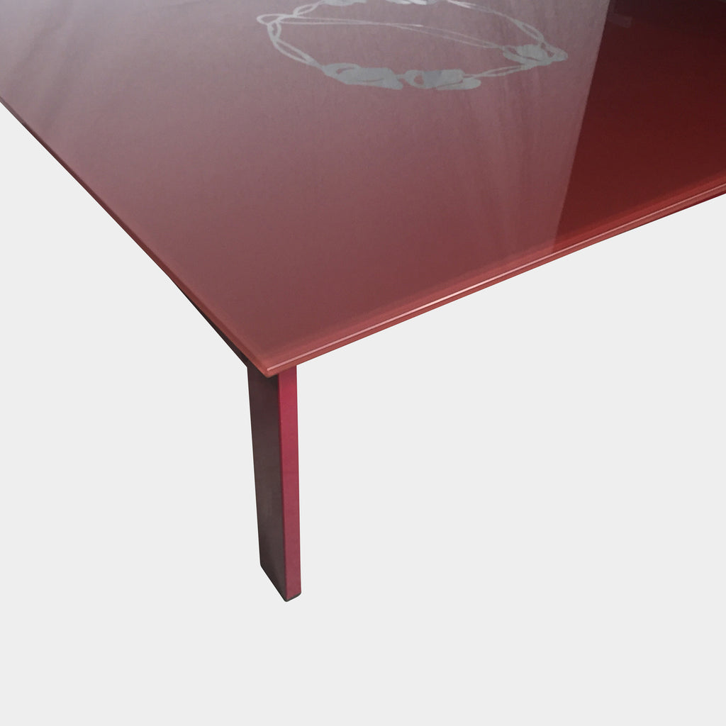 BD Barcelona 'Sevilla' Red  Coffee Table