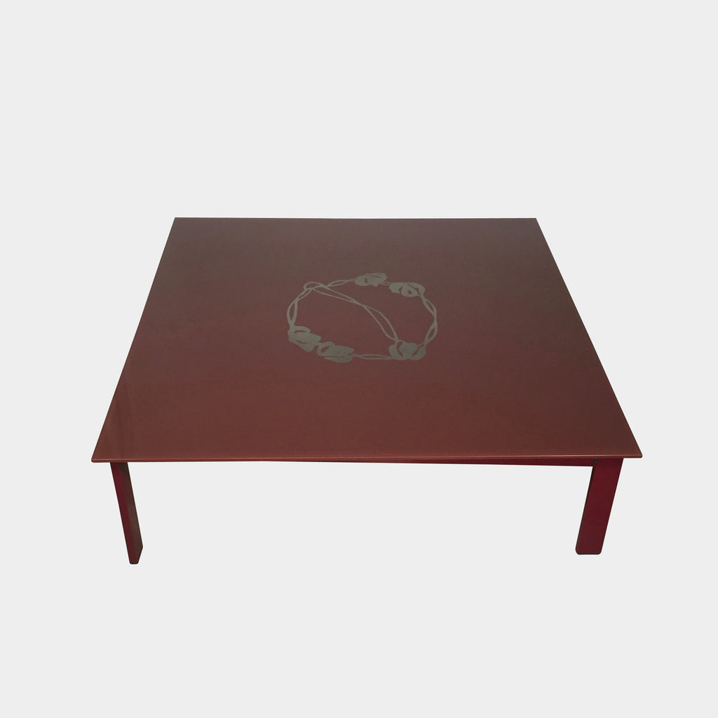 Sevilla Coffee Table - red, Coffee Table - Modern Resale